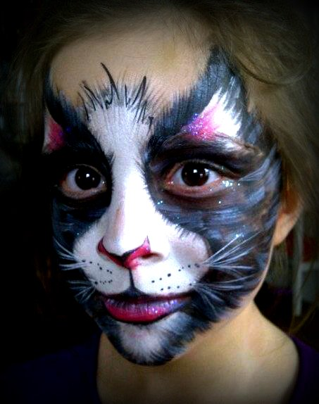 Face Painting Cats Musical